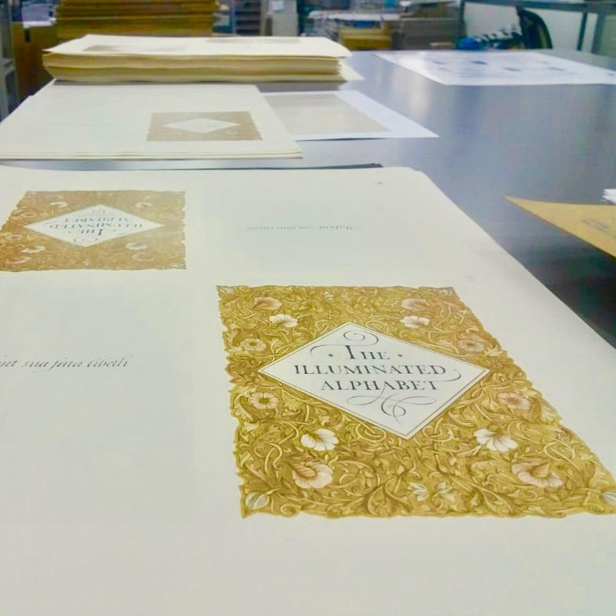 «Азбука цвета»в типографии «Радуга»